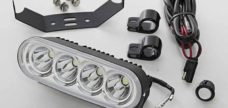 Kit luce 4 led ATV, Prowler, Wildcat