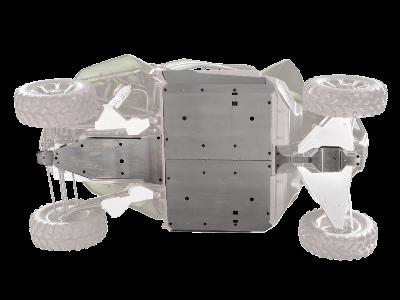 Protezioni sotto scocca in alluminio Wildcat