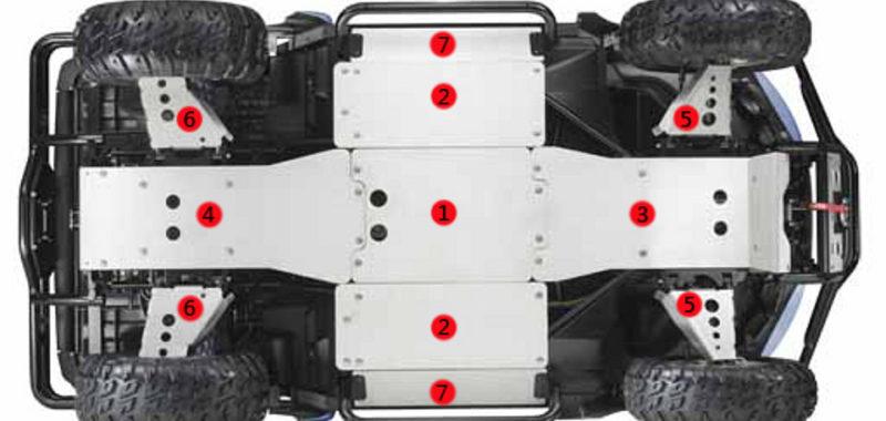 Protezioni sotto scocca in alluminio Prowler