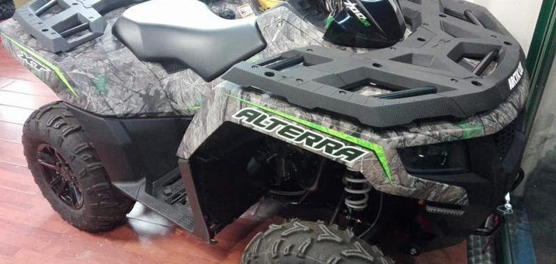 ARCTIC CAT ALTERRA 700 XT CAMO