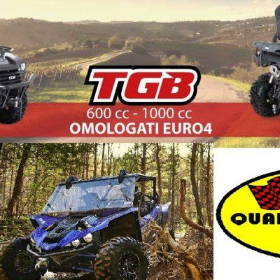 Presentazione nuovi mezzi TGB e YAMAHA - test in fuoristrada